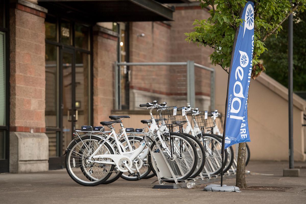 Pedal Corvallis Bike Station