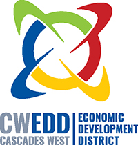 Cascades West Economic Development District logo